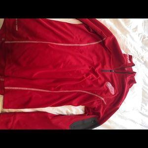 Detroit Red Wings quarter zip jacket